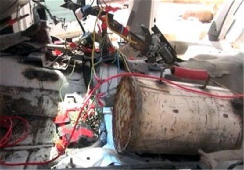 انفجار مصنع ذخیرة للمجموعات الإرهابیة فی إدلب