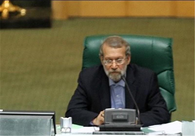 لاریجانی ینتخب رئیسا لمجلس الشوری الاسلامی للسنة السابعة