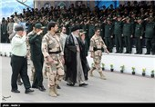 Graduation Ceremony for IRGC Cadets Held with Leader in Attendance