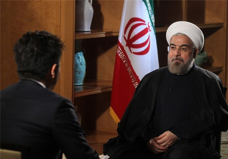 روحانی : لو تبادر أمریکا للتعویض عن الماضی وتکف عن عدائها لشعبنا فأن یمکن توقع ظروف