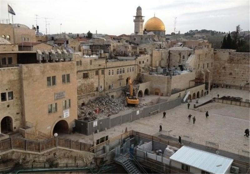 """الاحتلال الصهیونی یسعى لتهوید """"رباط الکرد"""" التابع للأقصى"""