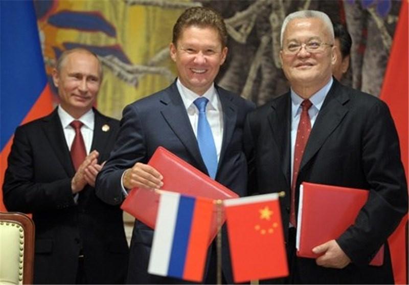 عقد غاز بین روسیا والصین بقیمة 400 ملیار دولار