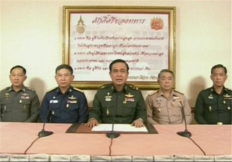 Thailand's Army Chief Announces Military Coup