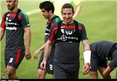 Teymourian Optimistic about Iran's Good Performance against Nigeria