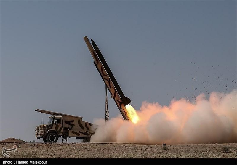 شلیک راکت نازعات N10 + عکس
