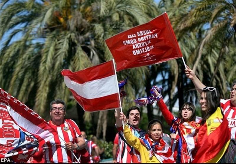 تماشاگران دوتیم اسپانیایی