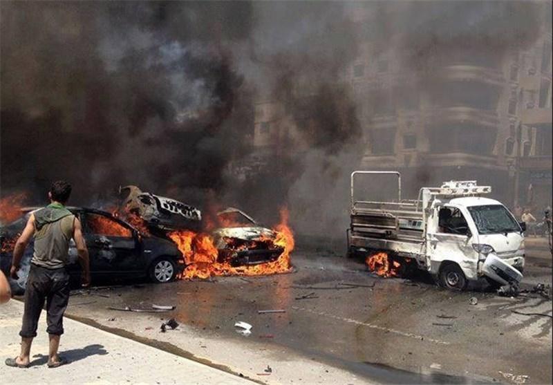 استشهاد عدد من السوریین بینهم أطفال ونساء فی ثلاثة تفجیرات إرهابیة فی مدینة حمص + صور