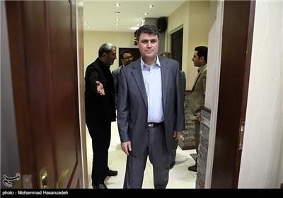 """المدیر التنفیذی لوکالة الانباء السوریة """"سانا"""" یزور"""" تسنیم"""""""