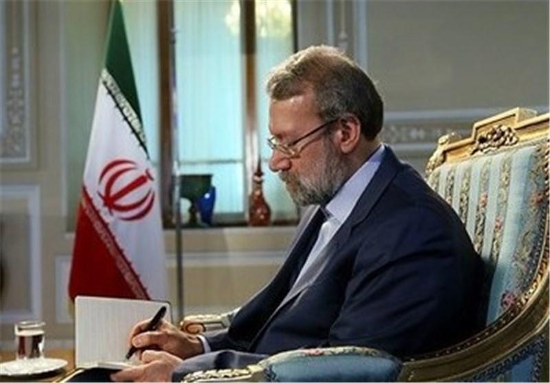 رئیس مجلس الشوری الاسلامی یهنیء لبنان بالذکری السنویة لتحریر الجنوب