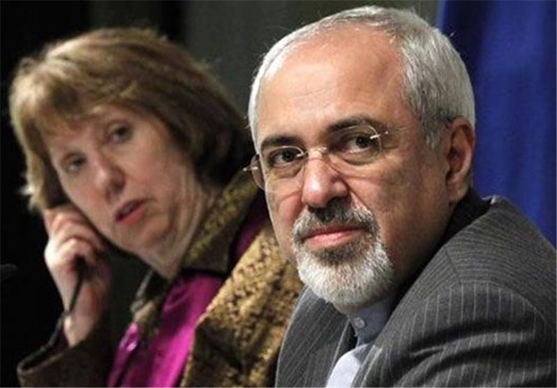 Zarif Says He Will Discuss Nuclear Talks Developments with Ashton