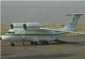 یک فروند هواپیمای آنتونف سپاه دچار سانحه آتشسوزی شد