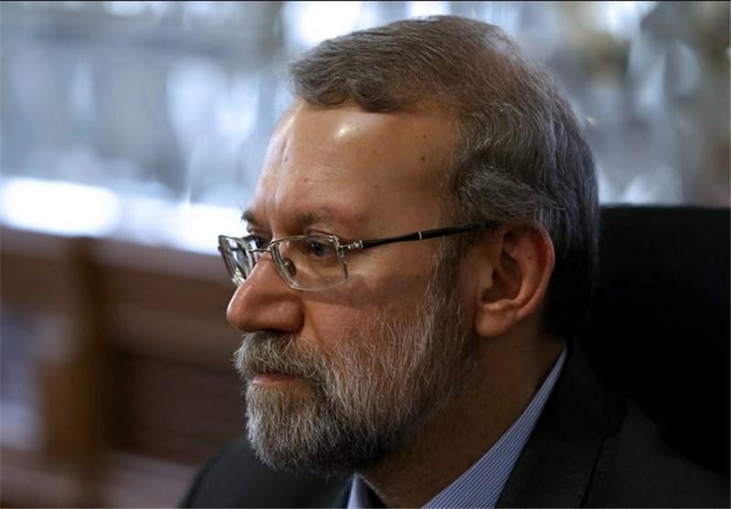 لاریجانی : لیس للغرب أن یثنی ارادة الشعب الایرانی