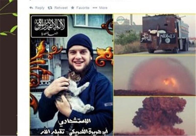 تروریست آمریکایی در سوریه