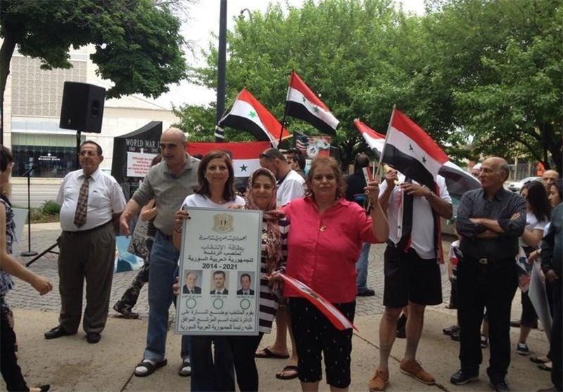 إقبال کثیف على الانتخابات الرئاسیة السوریة فی الخارج