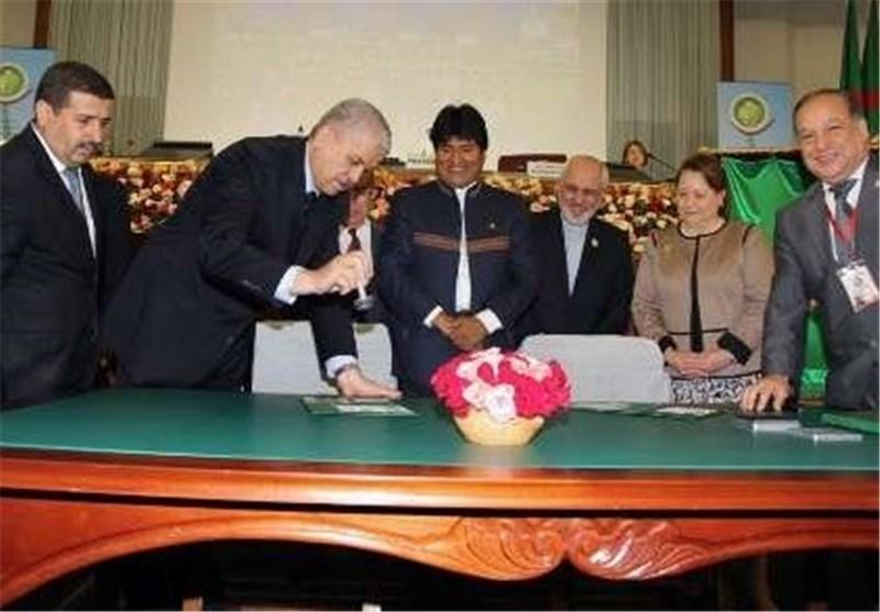 ظریف : نأمل أن یؤدی مؤتمر الجزائر الی مزید من الوحدة بین اعضاء حرکة عدم الانحیاز