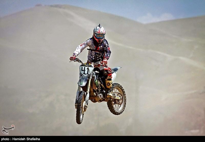مسابقات موتور کراس-قزوین