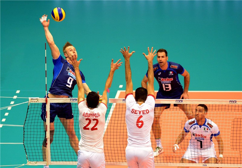 Iran Loses to Italy in FIVB Volleyball World League