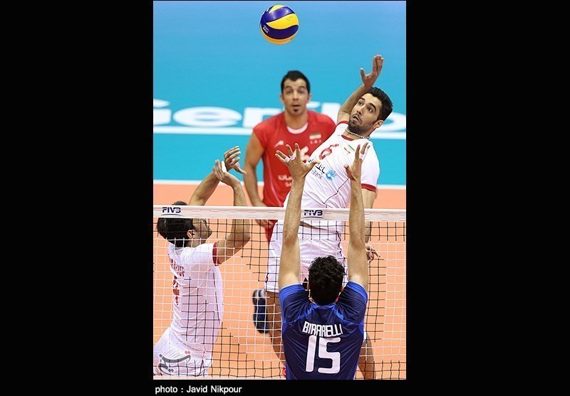 Italy Beats Iran 3-0 in Volleyball World League