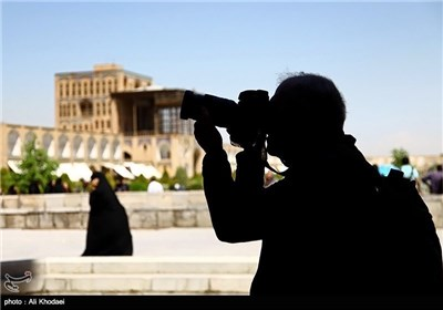 Foreign Tourists in Historic City of Isfahan