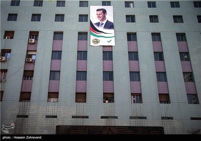 تبلیغات انتخابات ریاستجمهوری سوریه