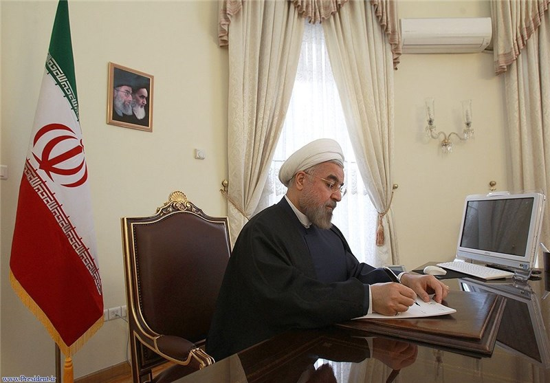 Rouhani Hopes for Iran-Ukraine Closer Ties
