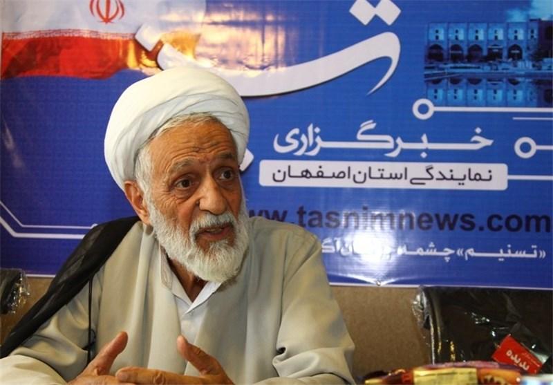 محمد تقی رهبر امام جمعه موقت اصفهان