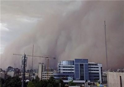 طوفان در مسیر تهران _ قم+ فیلم