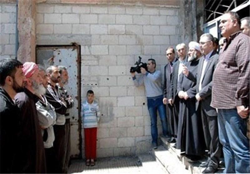 """أنباء عن مصالحة فی """" حی الوعر """" بحمص .. والمجموعات المسلحة ترفض خروج الغرباء من الحی"""