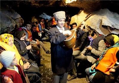 بزرگترین غار آبی جهان در همدان+علیصدر