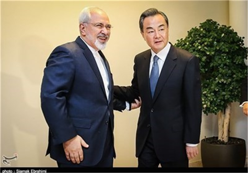 Iranian, Chinese FMs Discuss Developments in Nuclear Talks