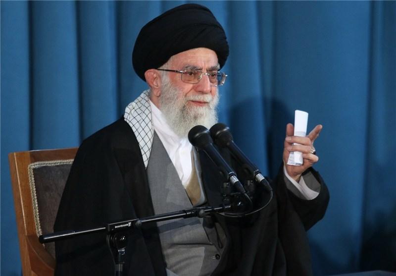امام خامنهای در مشهدمقدس