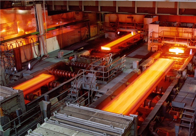 Iran's 6-Month Steel Production Up 4.5%: Report