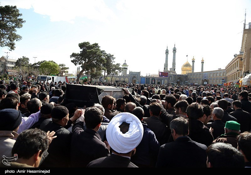 Funeral Procession Held for Supreme Leader's Sister