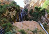آبشار نوژیان لرستان5