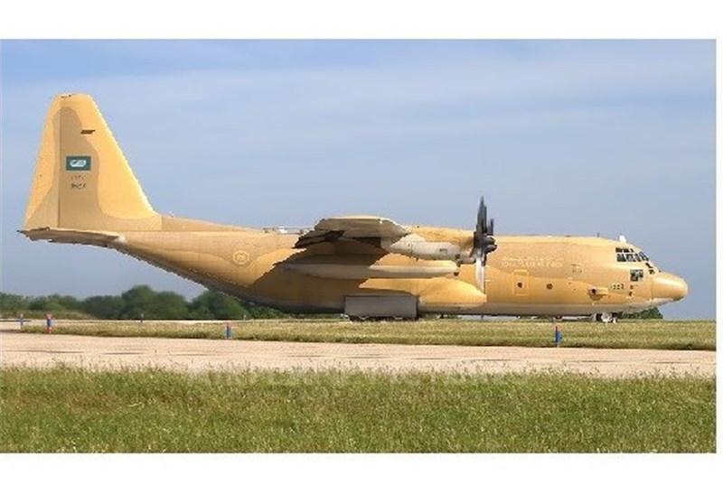 قیادات عسکریة سعودیة تصل عدن على متن طائرة شحن عسکریة