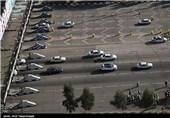 کاهش 14 درصدی ترددهای جادهای از یکم تا نهم شهریور