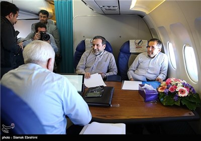 Iran's Nuclear Negotiating Team Arrives in Lausanne