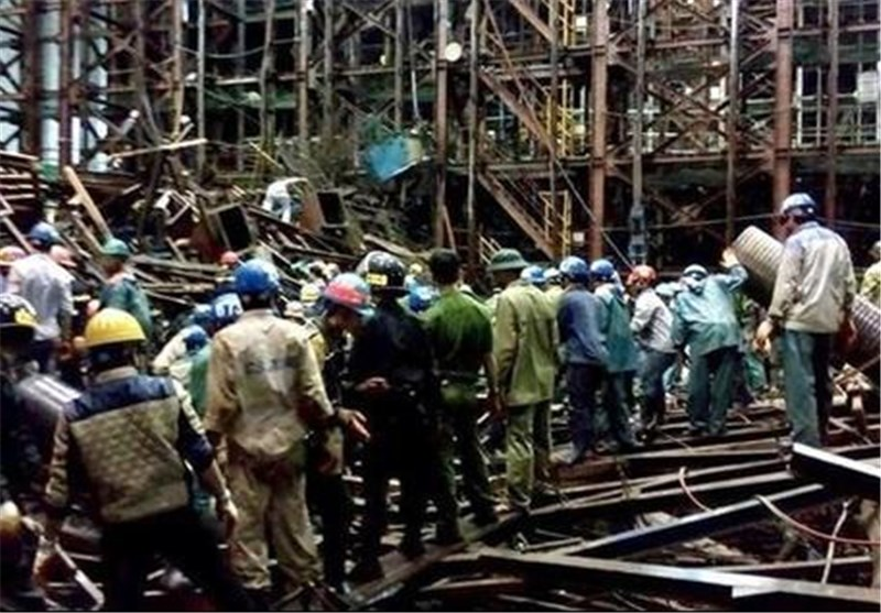 14 Dead in Scaffolding Collapse at Vietnam Steel Plant