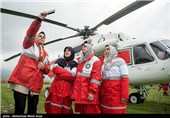 امدادگران هلال احمر - گلستان