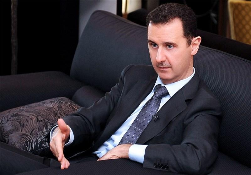 الرئیس الأسد : القبول بحل سیاسی رهن بحضور حلفاء سوریا مثل ایران وروسیا فی صلب ما یُطرح