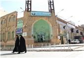 بقعه امامزادگان عبدالله و آمنه خاتون(ع) زیارتگاهی در قلب شهر اراک+تصاویر