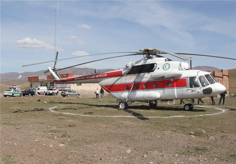 بالگرد امدادی در استان گیلان بهصورت تماموقت مستقر میشود