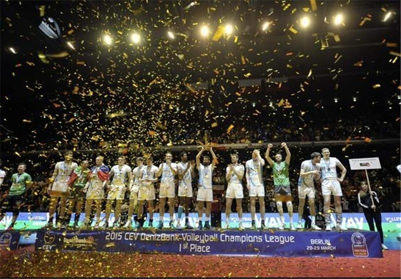 Zenit Kazan Wins CEV Volleyball Champions League