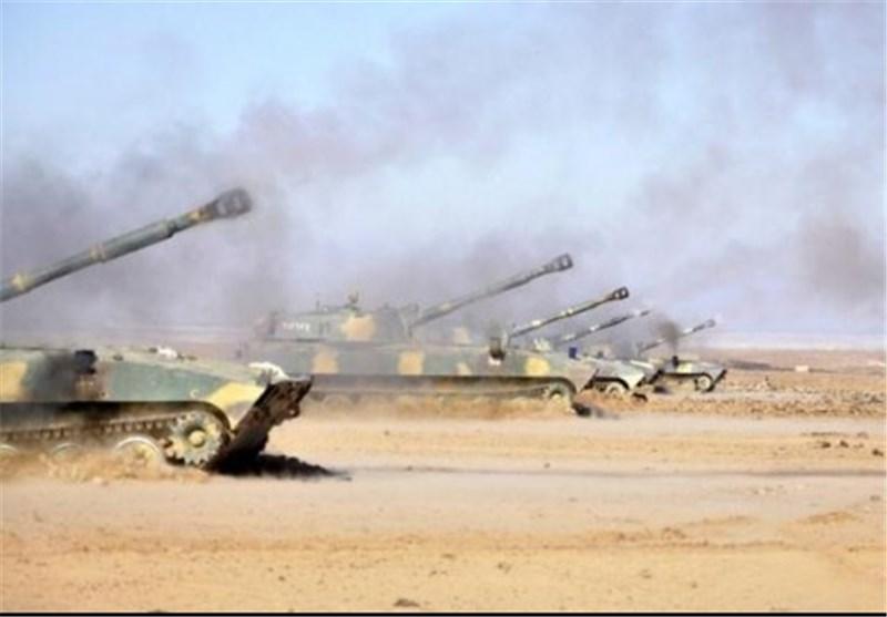 الجیش السوری یبدأ هجوما مفاجئا فی محیط کنسبا بریف اللاذقیة
