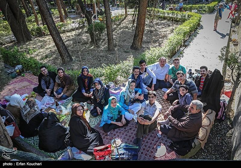 گلچين عکس هاي سيزده به در تهراني ها / سري سوم - مجله گيزميز
