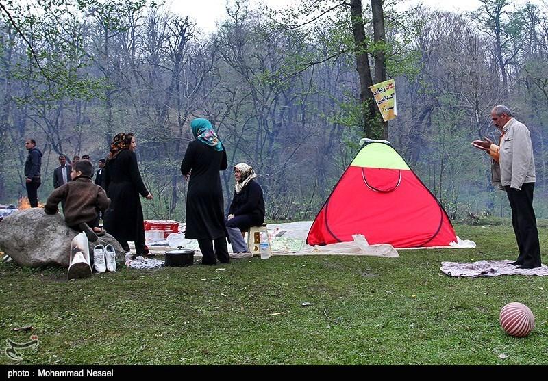 مردم استان گلستان به دامن طبیعت رفتند