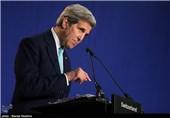 نشست خبری جان کری در پایان مذاکرات ایران و 1+5 - لوزان سوئیس