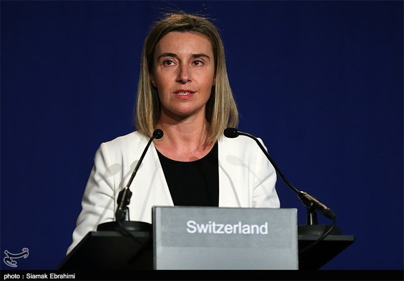 EU's Mogherini Calls Iran's Nuclear Conclusion Investment for Restoration of Peace