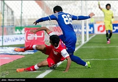 دیدار تیمهای فوتبال تراکتور سازی تبریز و استقلال خوزستان