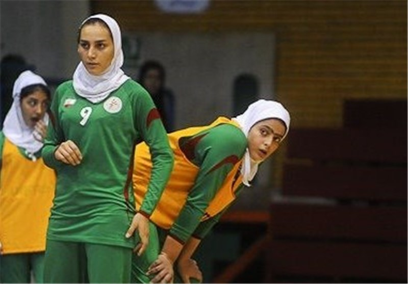 Iran Suffers Third Defeat at Asian Women's Junior Handball Championship